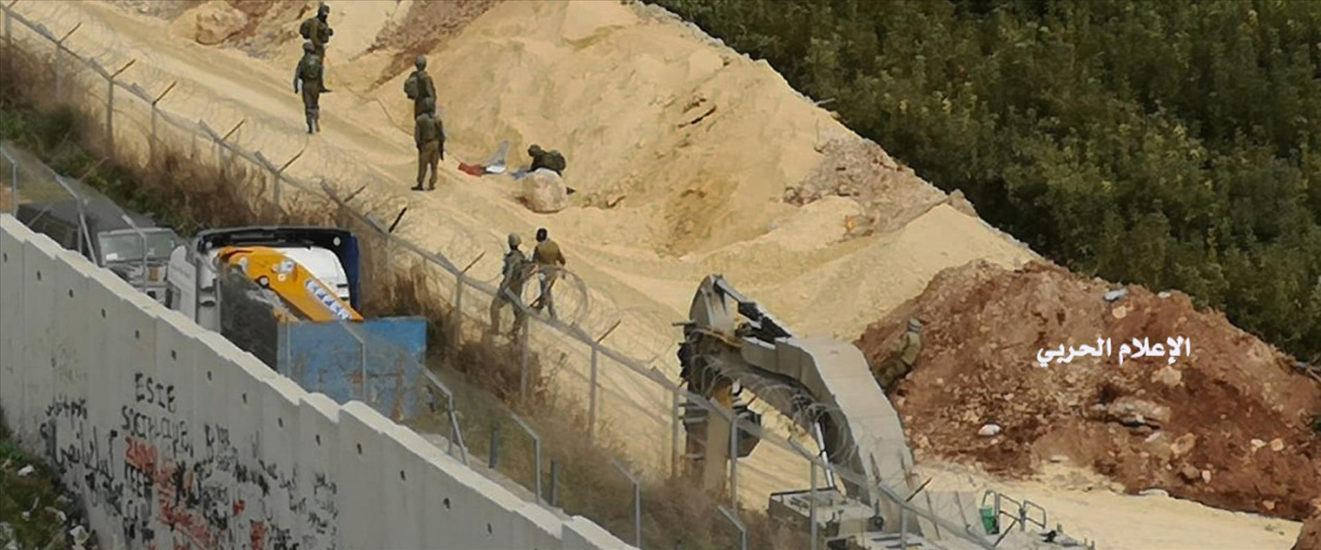 """פעילות צה""""ל בגבול לבנון"""