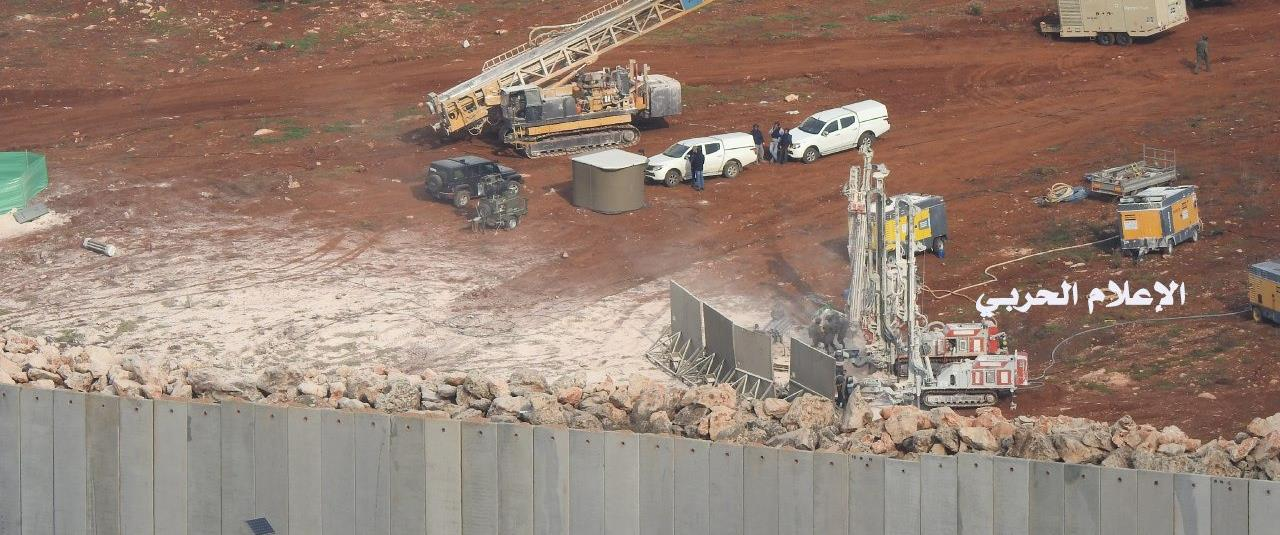 העבודות בגבול לבנון