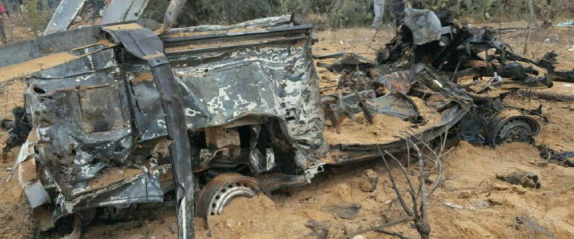 הרכב שבו נעשה שימוש במבצע בחאן יונס והושמד