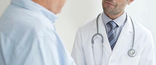 רופא עם פציינט