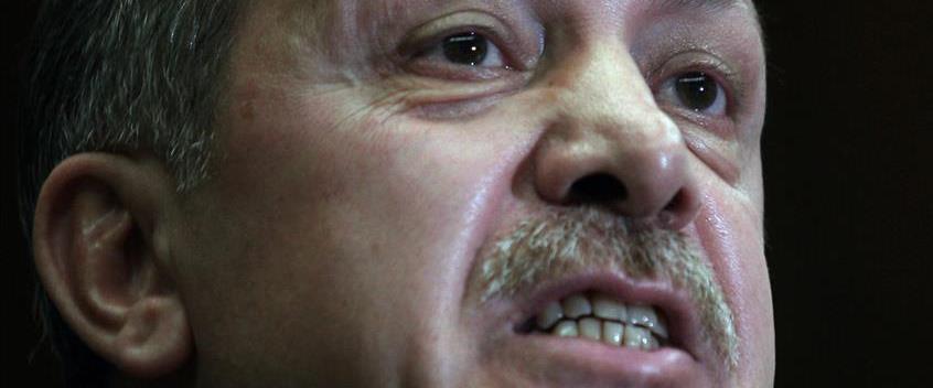 """ייפגשו. סגן נשיא ארה""""ב מייק פנס ונשיא טורקיה רג'פ"""