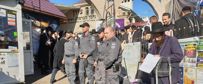 שוטרים ישראלים שהוצבו באומן, אשתקד