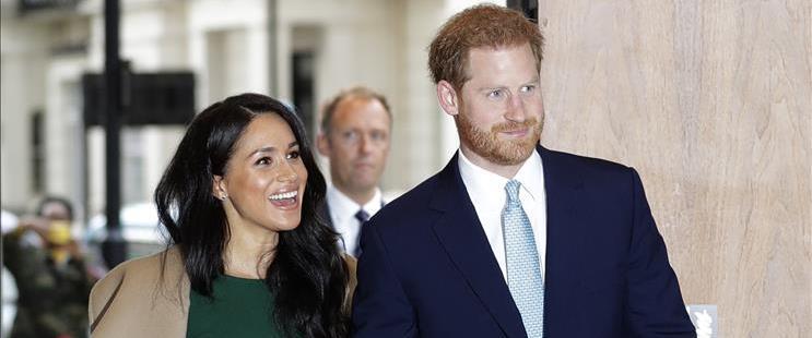הנסיך הארי וזוגתו מייגן מארקל