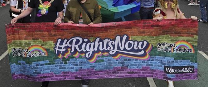 מצעד הגאווה האחרון בצפון אירלנד