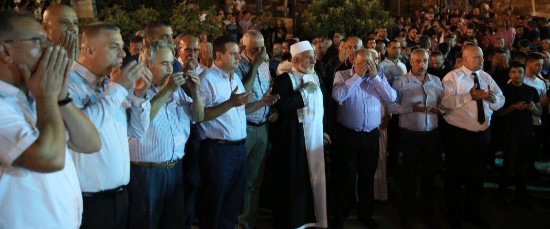 הלווית האחים אחמד וחליל מנאע במג'ד אל-כרום