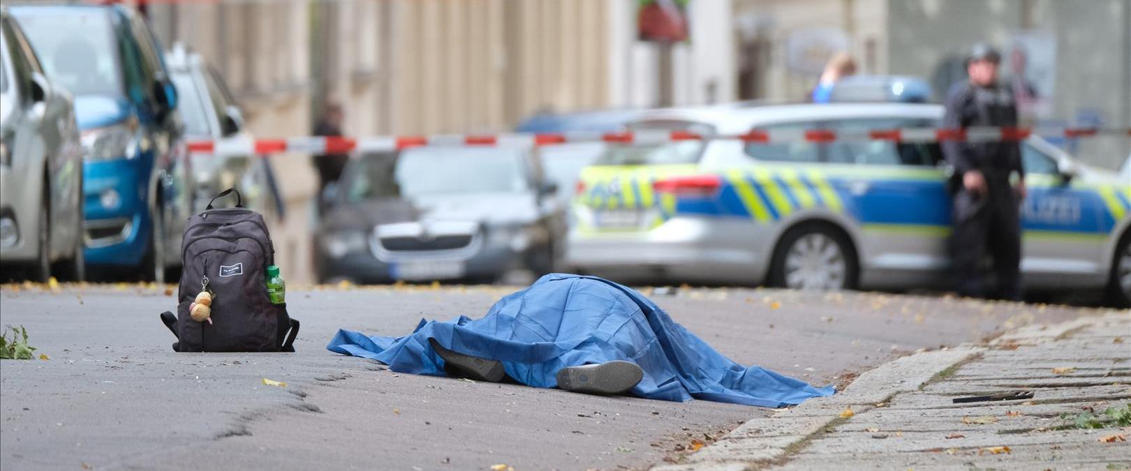הרוגים באירוע ירי בהאלה בגרמניה