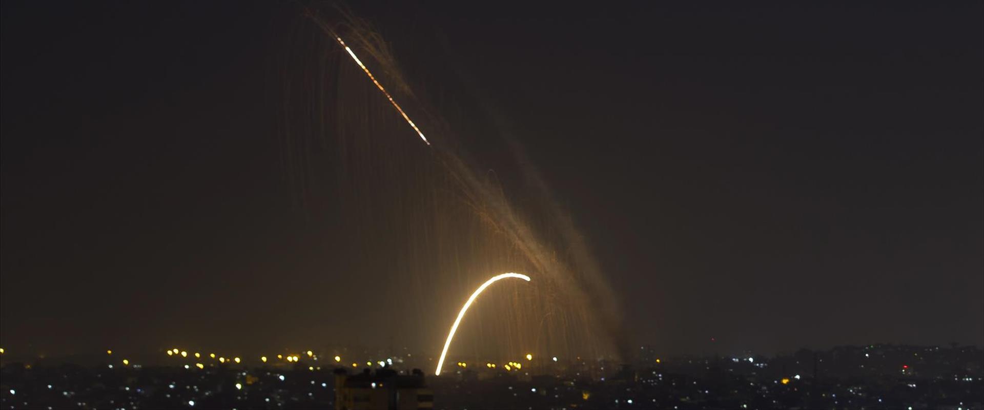 שיגור רקטות מרצועת עזה, ארכיון