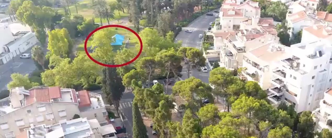 מתוך סרטון המחשת אירוע הירי בסלומון טקה