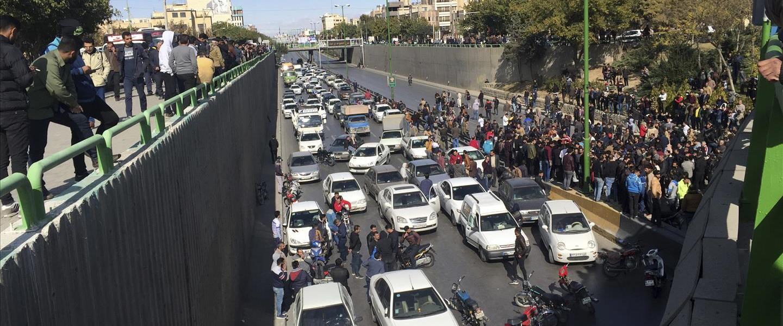 מחאת הדלק באיראן 16.11.19