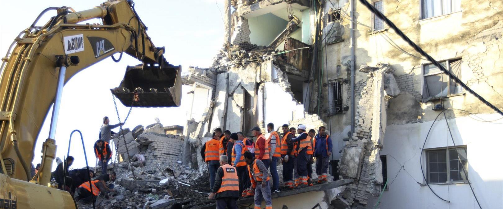 רעידת אדמה באלבניה