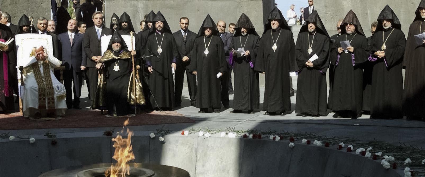 המוזיאון לרצח העם הארמני בבירת ארמניה