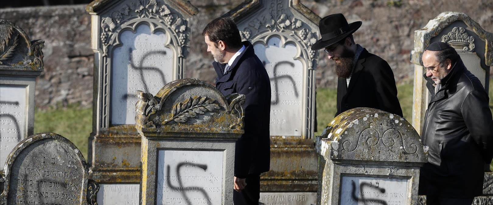 הקברים שהושחתו בצרפת