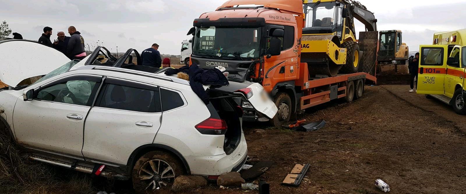 מקום התאונה בגולן, היום