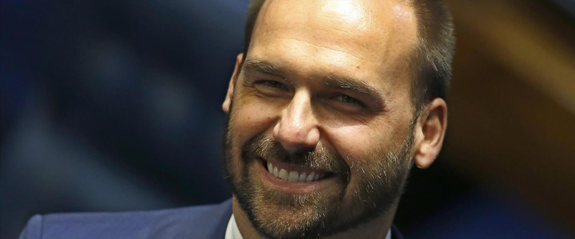 אדוארדו בולסונרו, הבן של נשיא ברזיל
