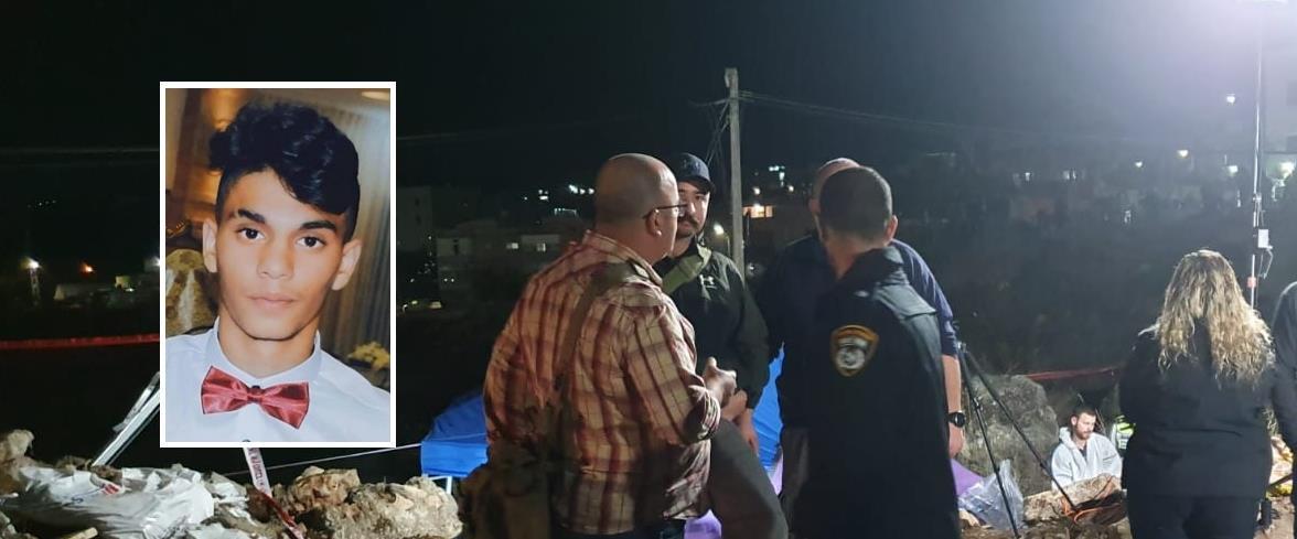 זירת מציאת גופתו של עאדל חטיב, 05.12.19, שפרעם