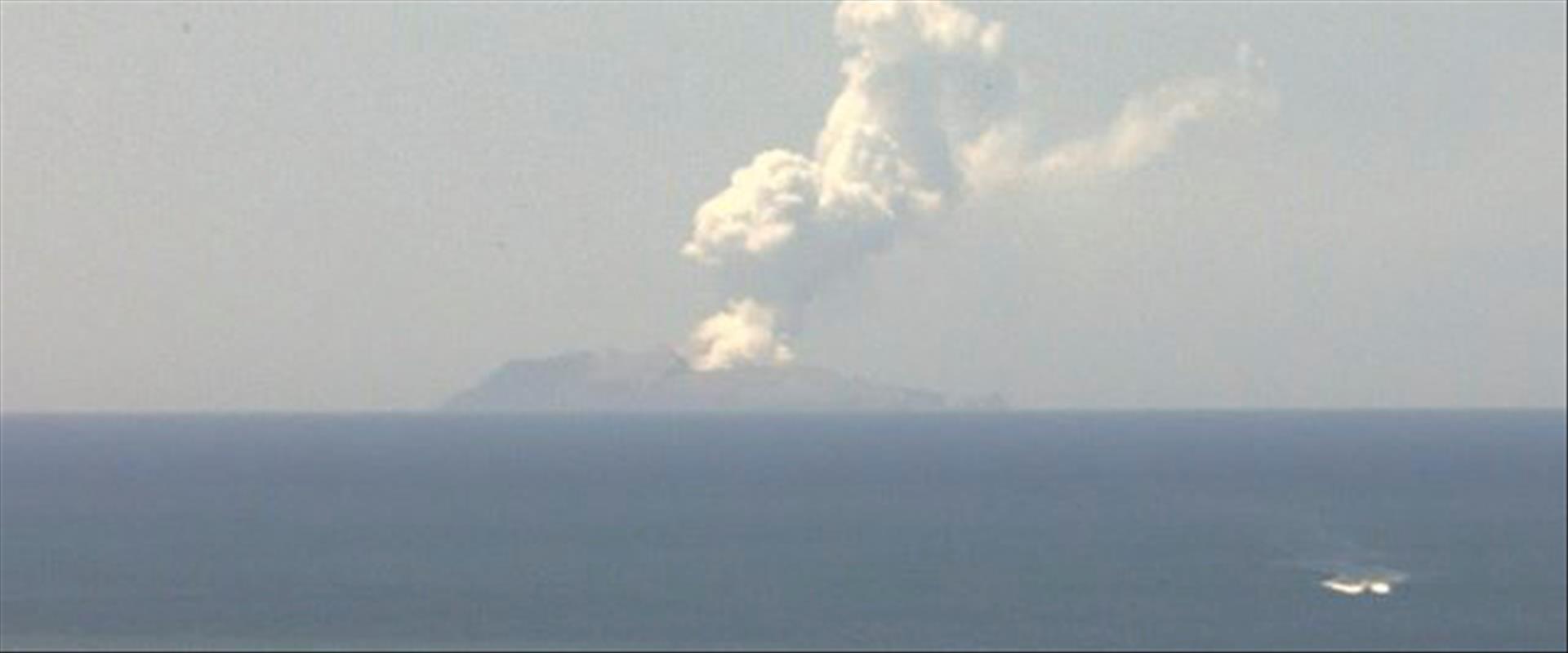 הר הגעש לאחר ההתפרצות, הבוקר