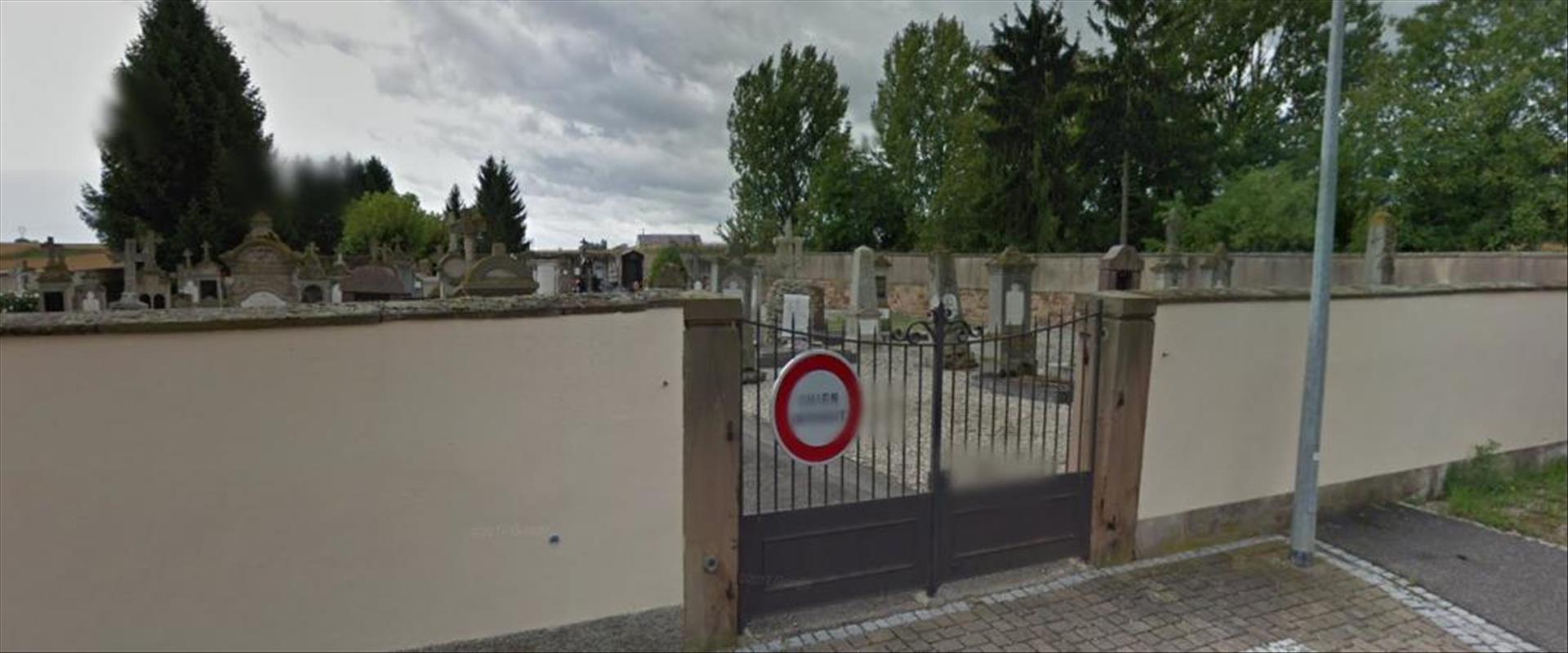 בית הקברות שבו חוללו הקברים