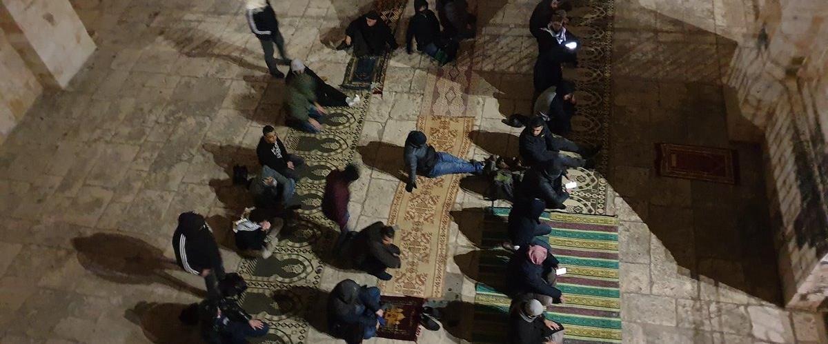 מתחם התפילה בהר הבית