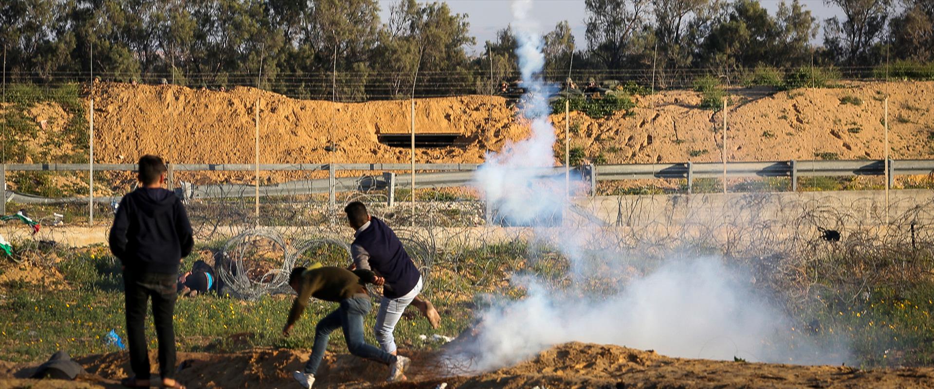 מהומות סמוך לגדר הגבול