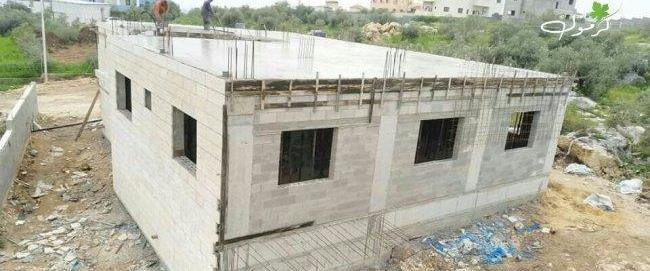 בניית הבית החדש של המחבל מברקן