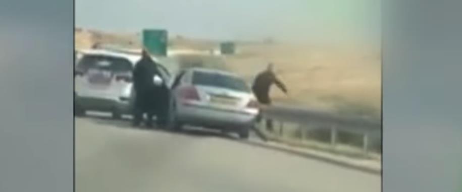 תיעוד המעצר בכביש 40