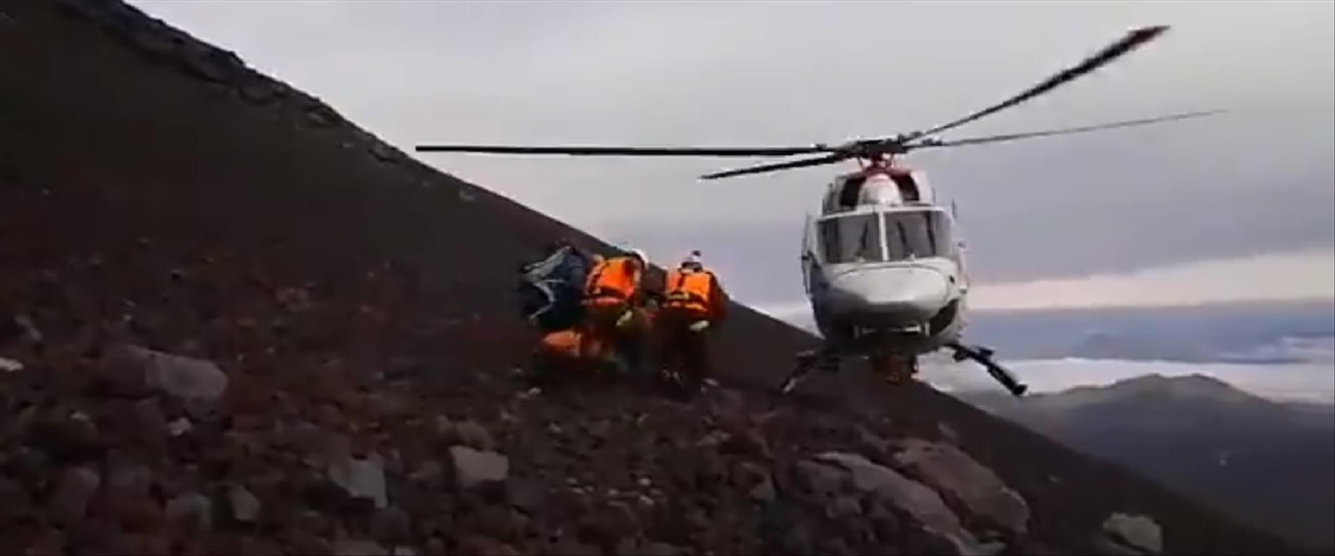 חילוץ המטייל הישראלי שנהרג בצ'ילה