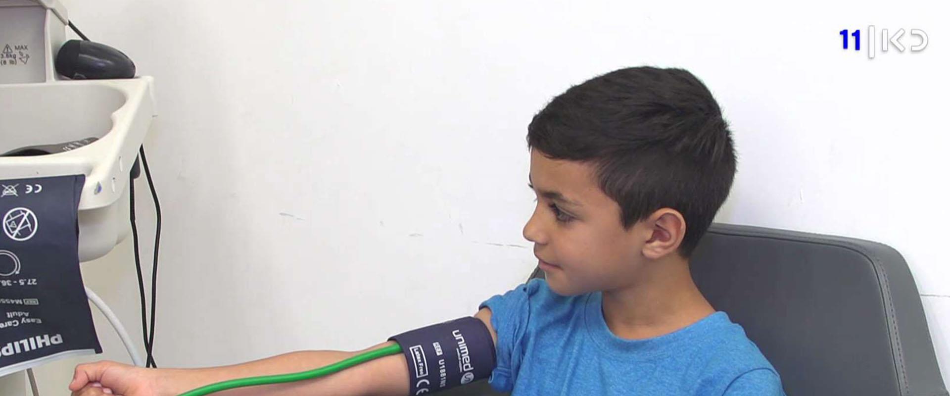 להיבדק מגיל 3: התופעה הגוברת של יתר לחץ דם אצל ילד