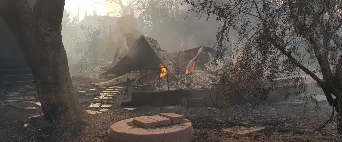 נזקי השריפה
