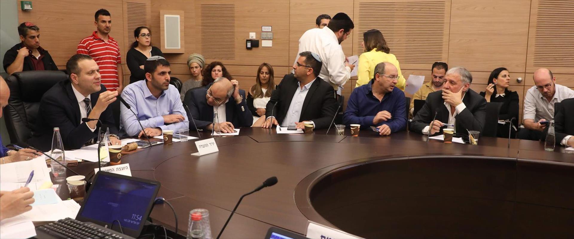 הוועדה שדנה בחוק פיזור הכנסת