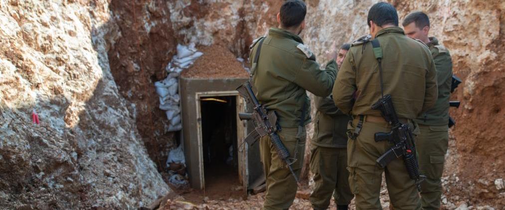 """אחת המנהרות שצה""""ל חשף ב""""מגן צפוני"""""""