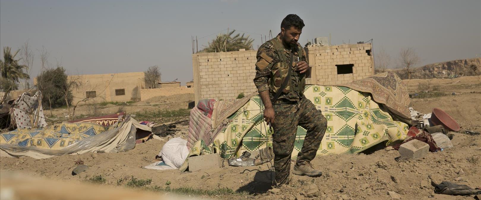 אזורי הקרבות בסוריה