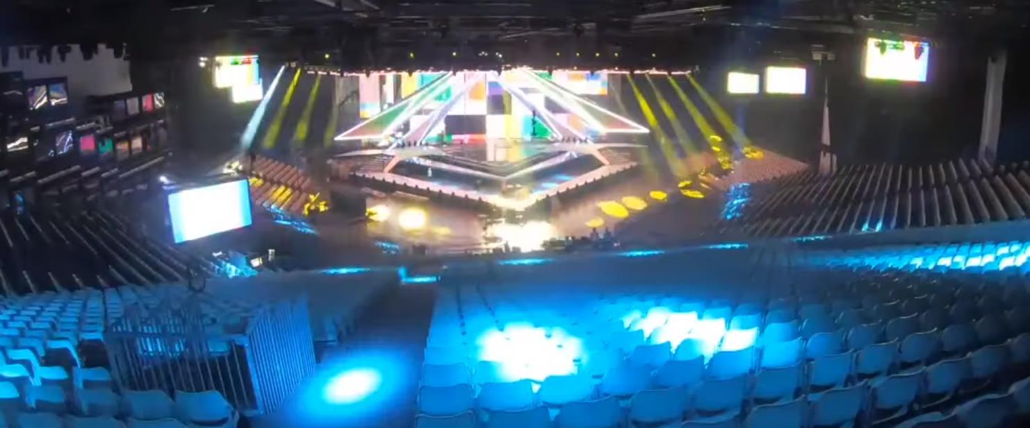הקמת אולם אירוויזיון 2019