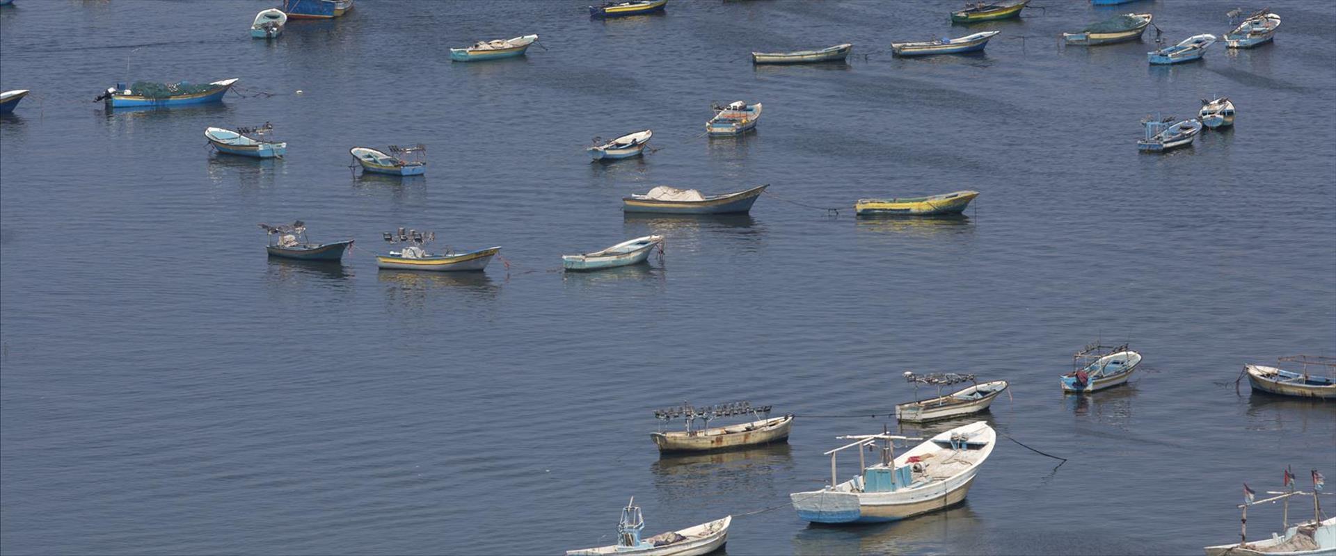 صيادو اسماك في غزة