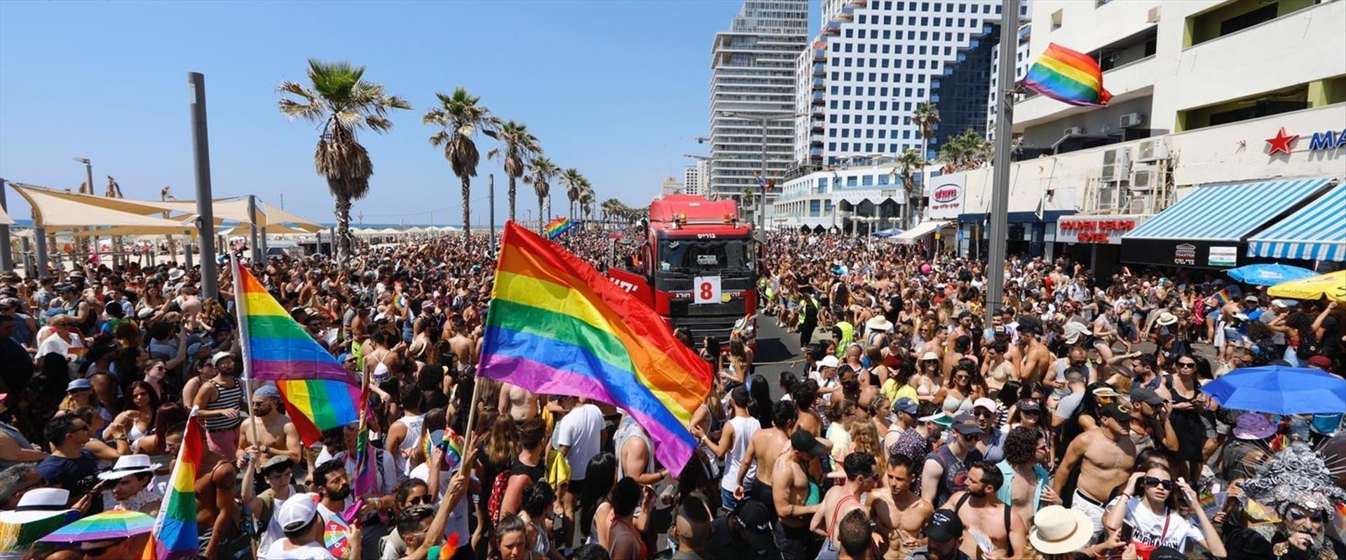 מצעד הגאווה בתל אביב