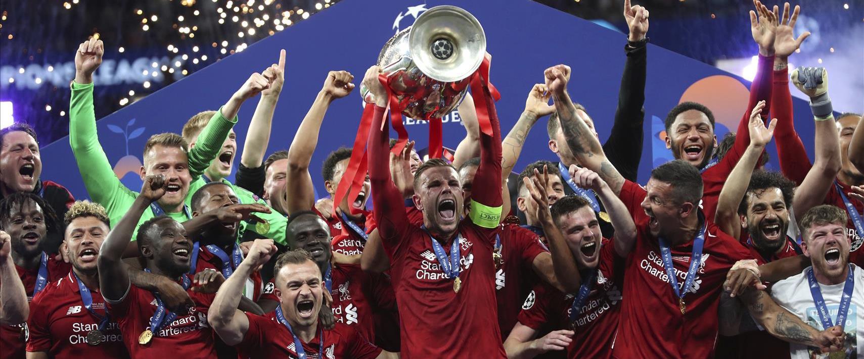 ליוורפול מנצחת בליגת האלופות, ב-2019