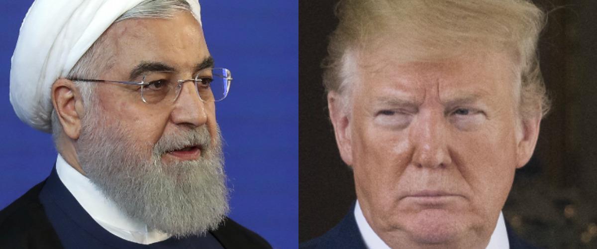 """מנהיגי ארה""""ב ואיראן"""