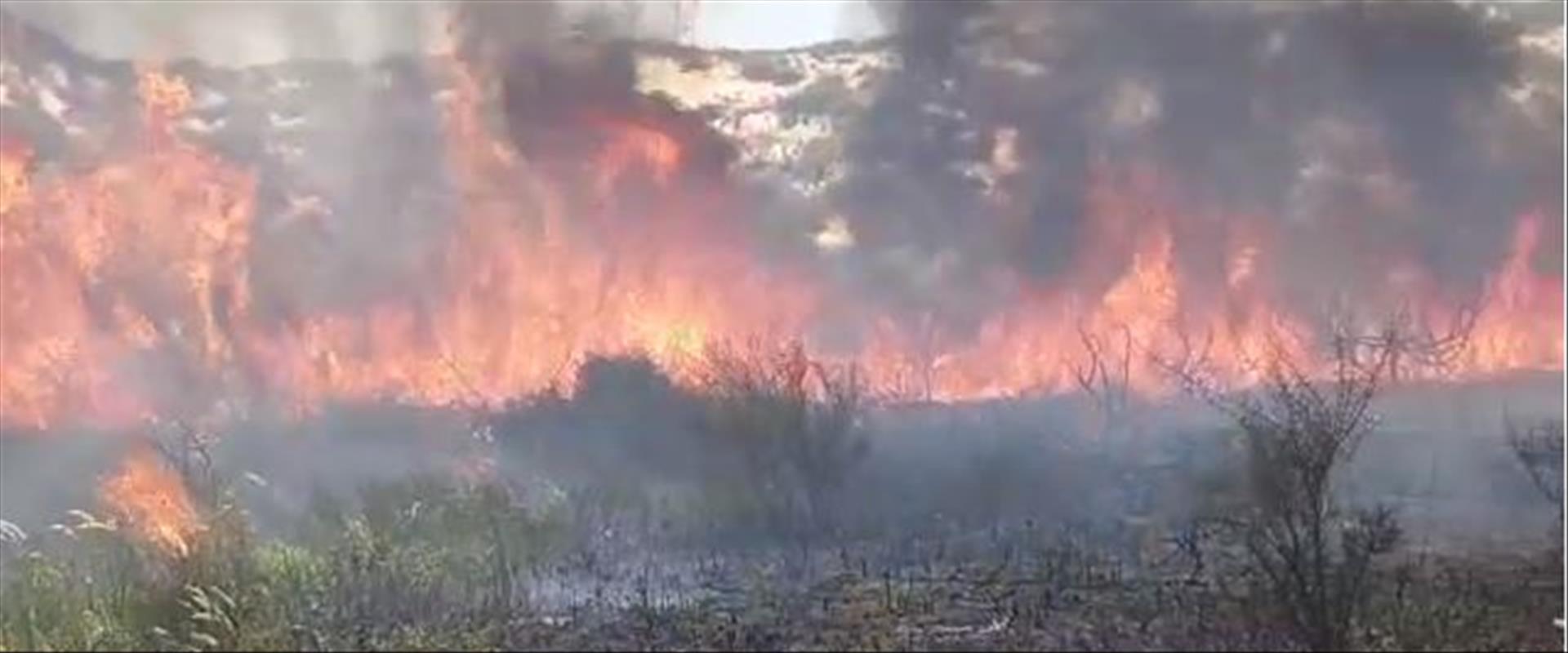 שריפה בנתיב העשרה