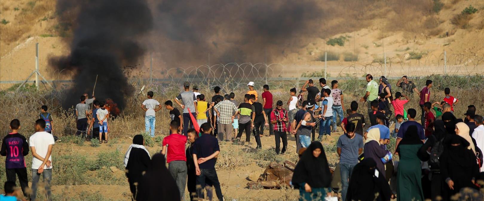 הפרות סדר בגבול ישראל-עזה