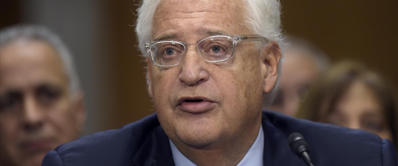 """שגריר ארה""""ב בישראל, דיוויד פרידמן"""