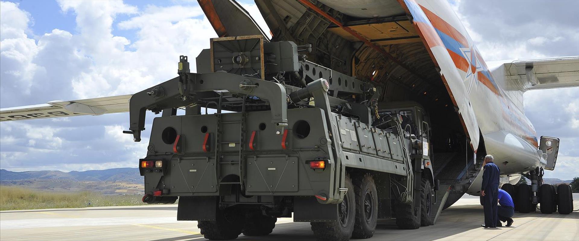 מערכת הגנה אווירית רוסית מדגם S-400