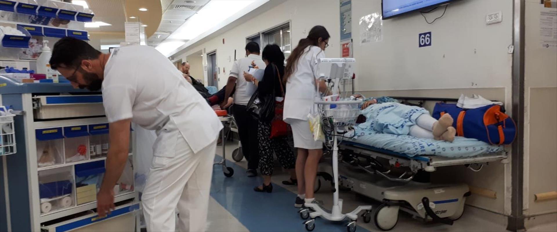 חדר מיון בית חולים שערי צדק, ירושלים