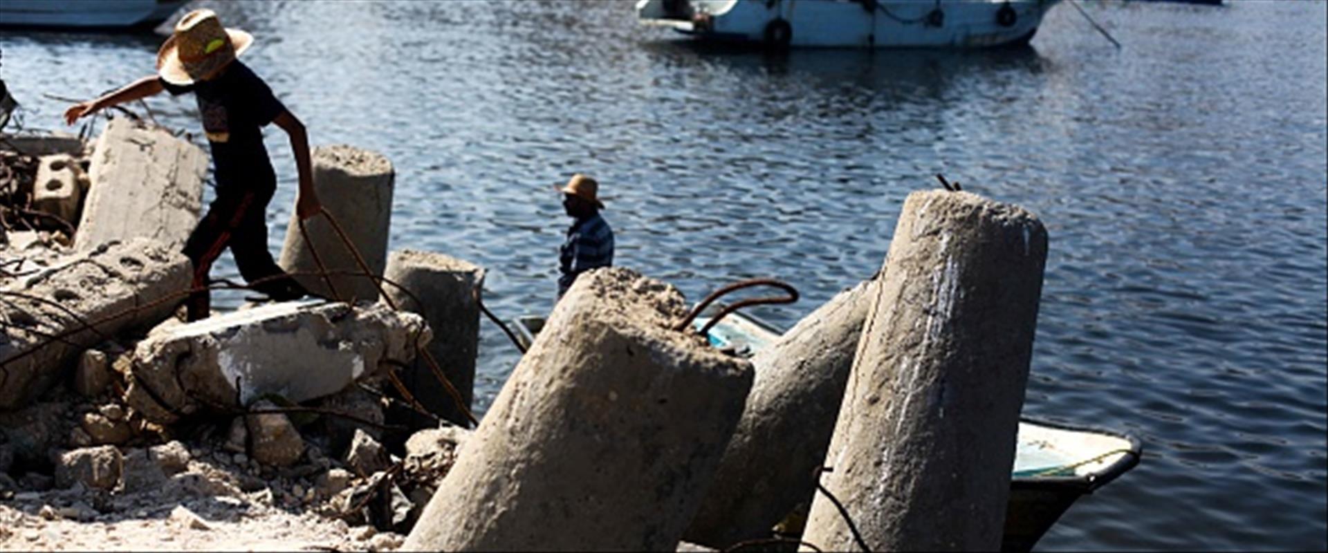 מרחב הדיג בעזה