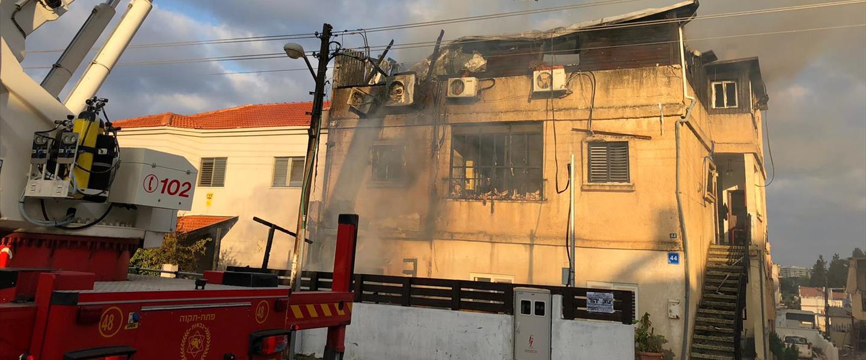 האש בבית הגננת החשודה בהתעללות
