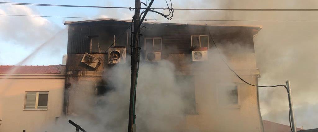 ביתה של הגננת, שעלה באש