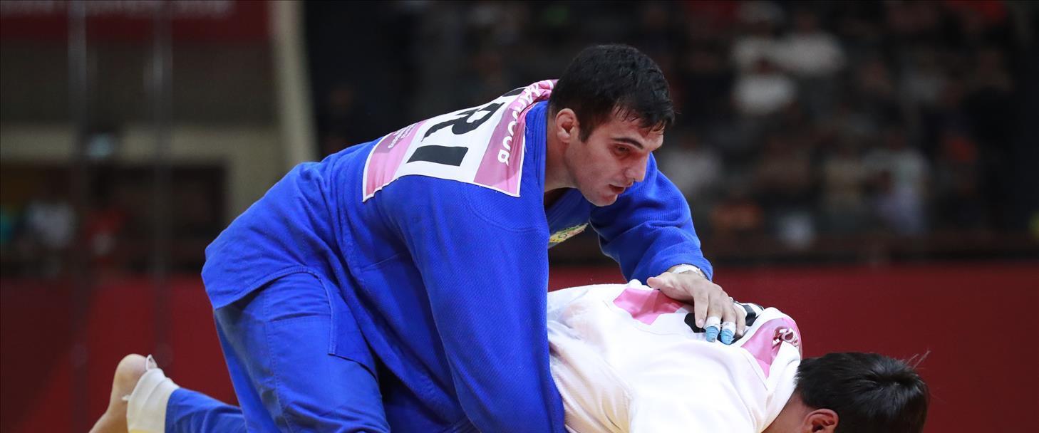 הג'ודוקא האיראני סעיד מולאי באליפות העולם