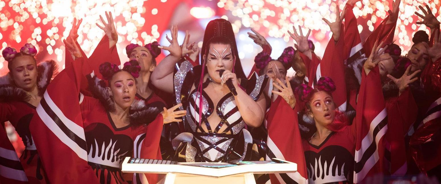 נטע ברזילי, באירוויזיון בתל אביב