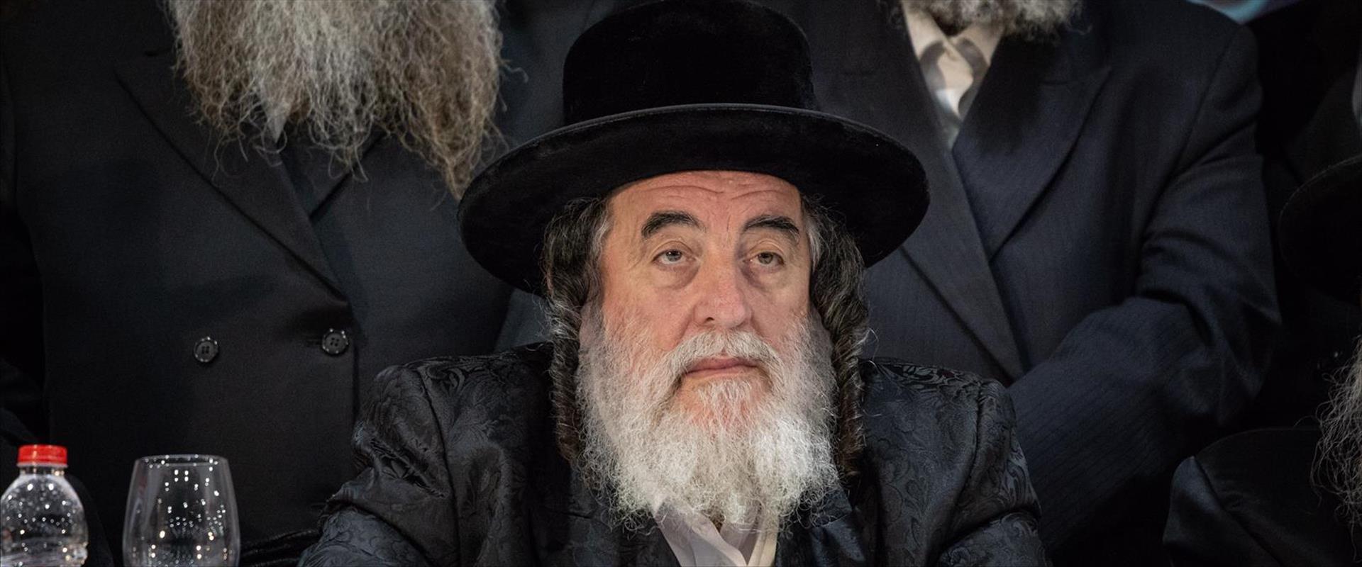"""הרב ישראל הגר, האדמו""""ר מויז'ניץ"""