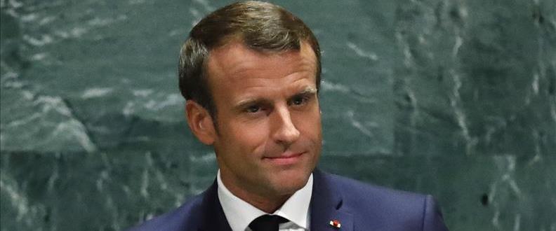 """מקרון בעצרת האו""""ם"""