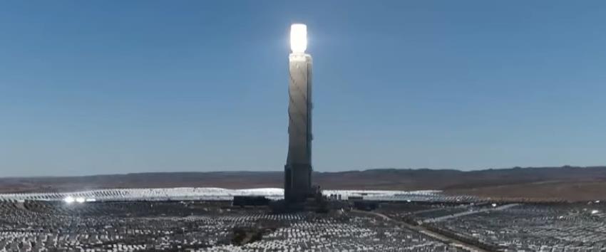 תחנת הכוח הסולארית בנגב