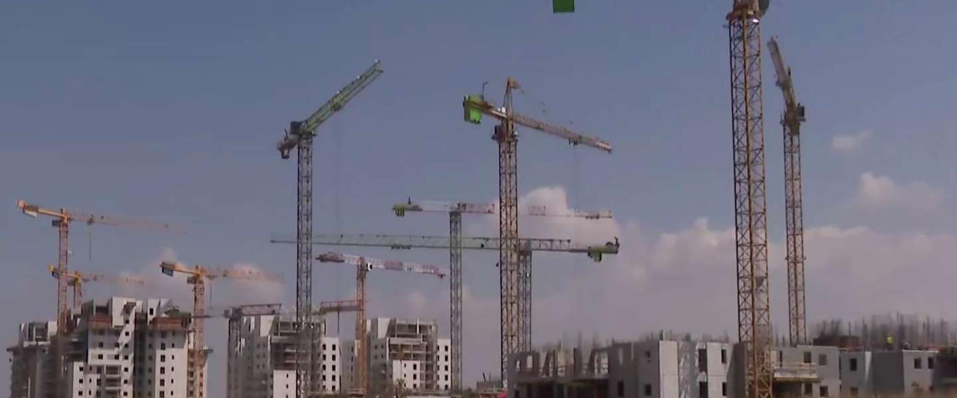 בניינים בבנייה
